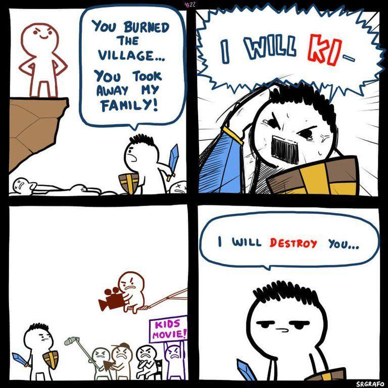 Kids movies - meme