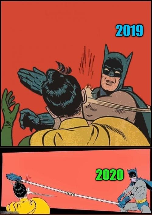 Porque las cosas cambian - meme