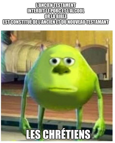 La Bible - meme