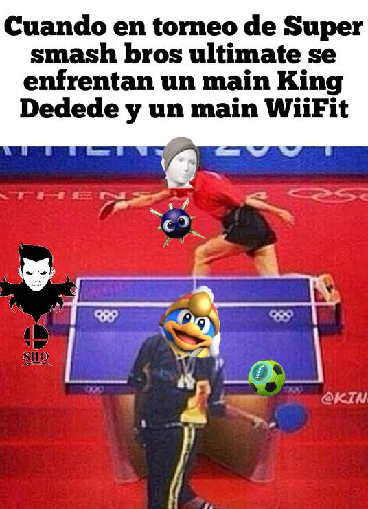Super smash bros ultimate ping pong version - meme