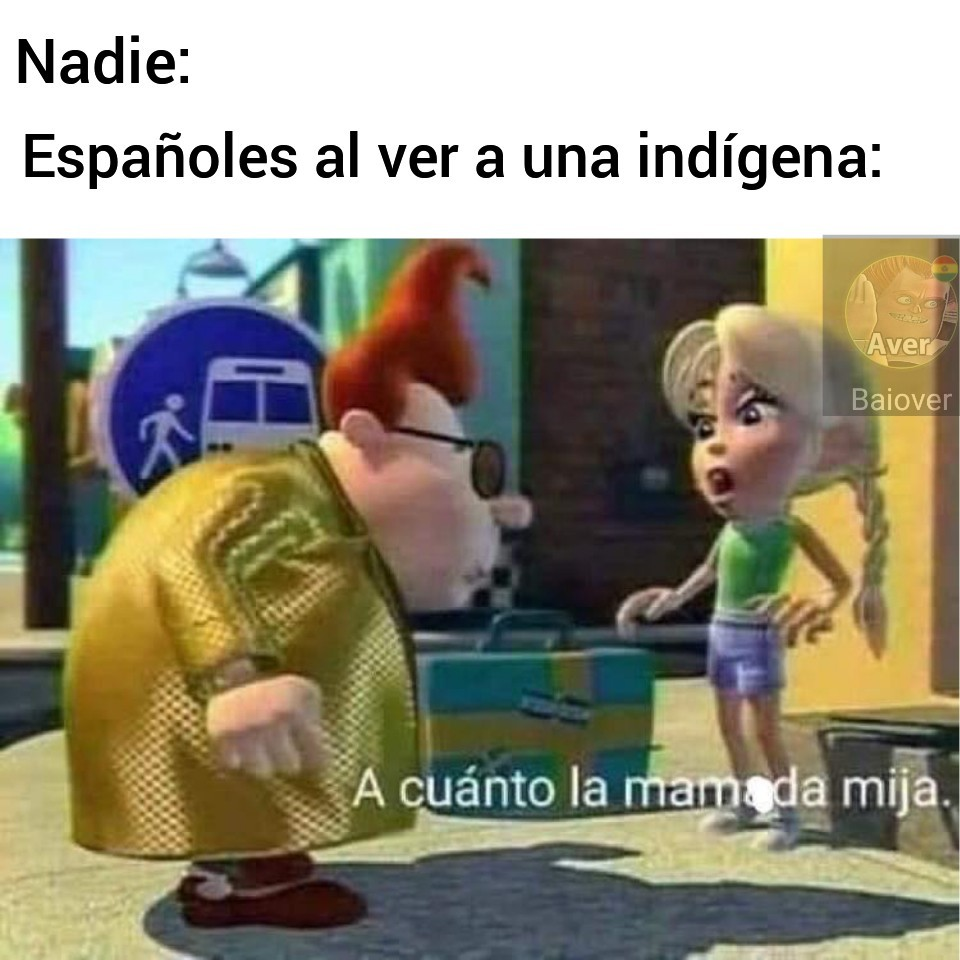 Mmmmm indígenas - meme