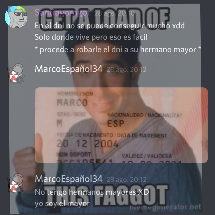 Marco es Maricon - meme