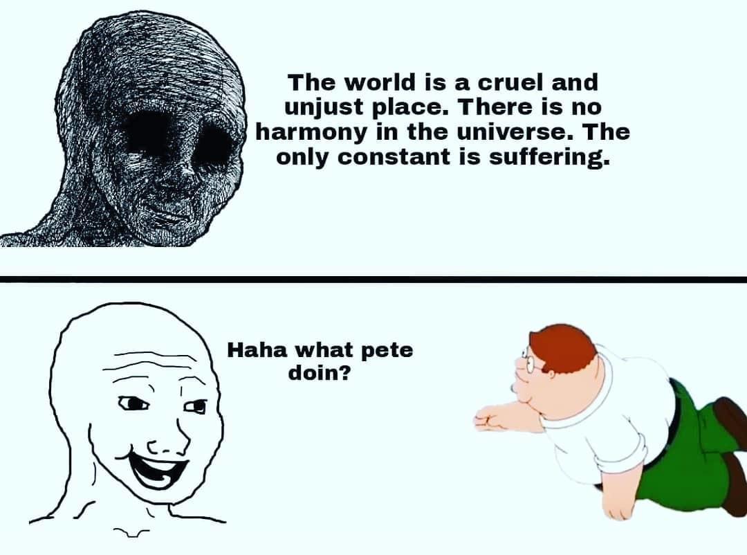 What Pete doin - meme