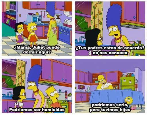 Me cago de la risa con ese Homero xD - meme