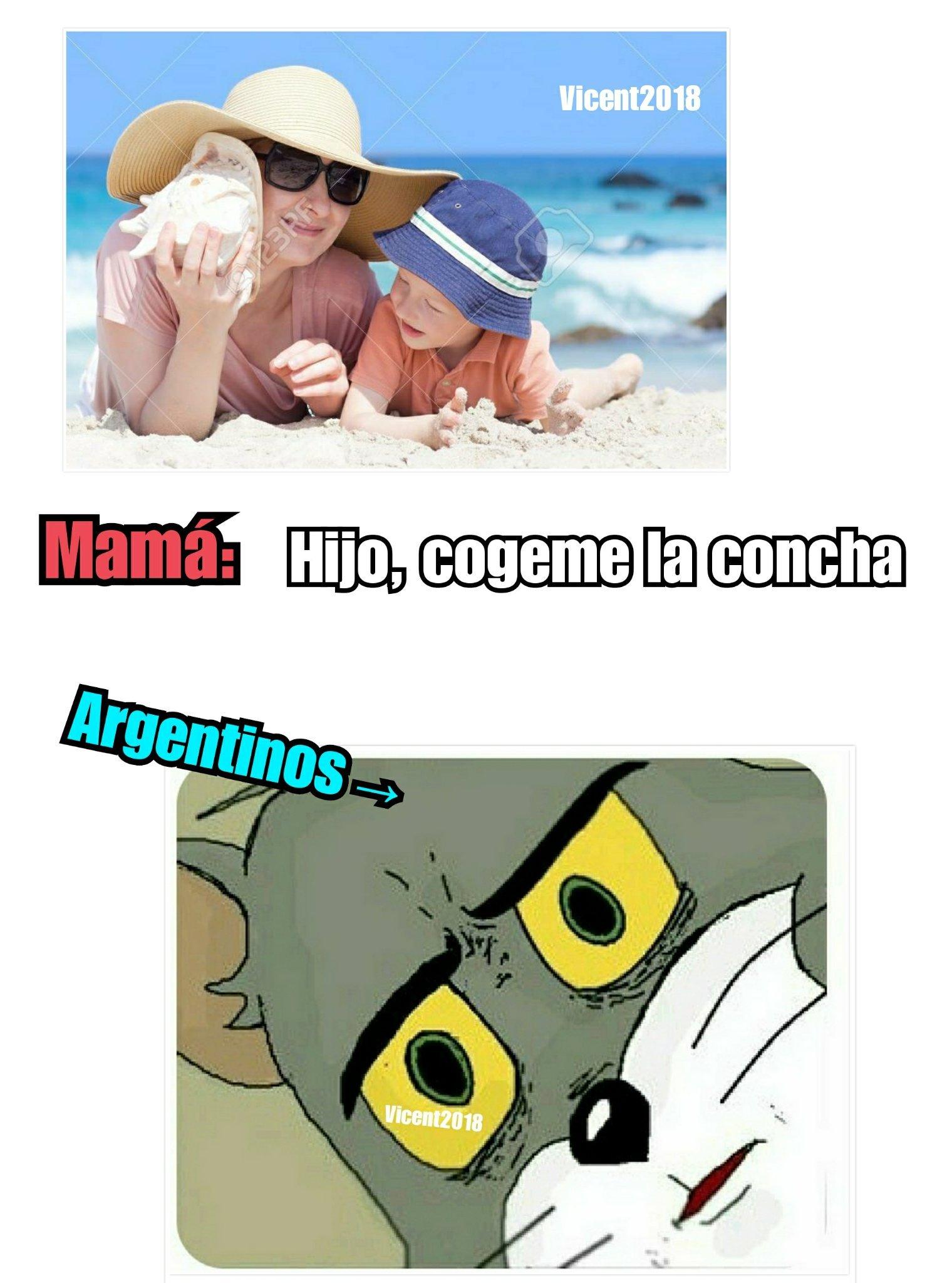 Gran part de Sudamérica (coger→acto sexual) - meme
