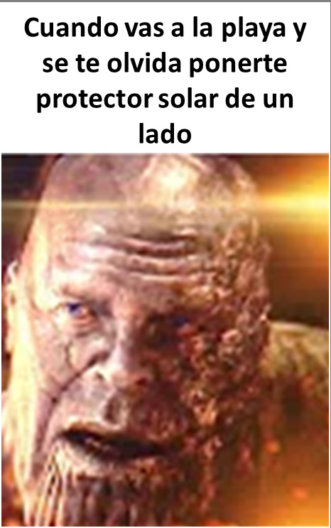 Que horrible es cuando te pasa - meme