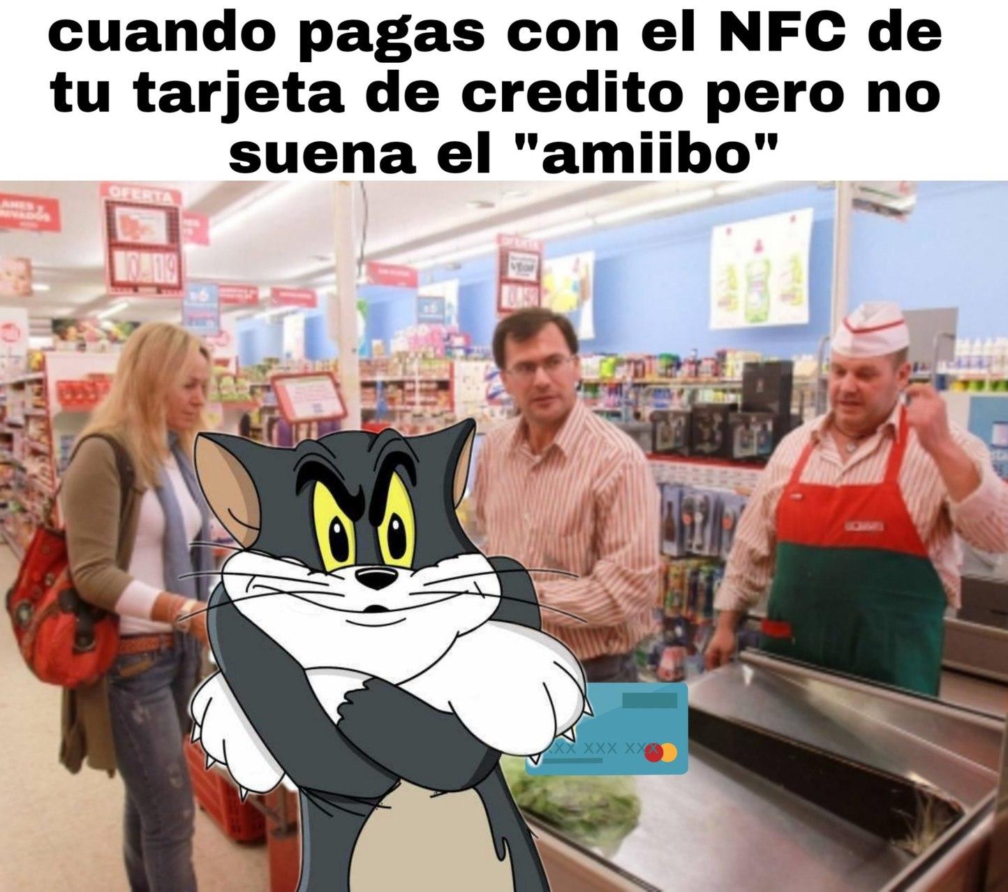 *click* amiibo - meme