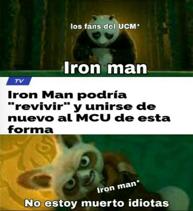 UCM es lo mismo que MCU solo que en español - meme
