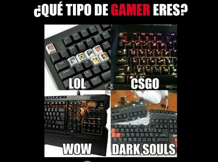 El mundo de los pc gamers - meme