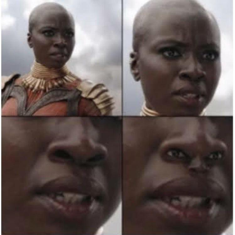 la terreur du Wakanda - meme