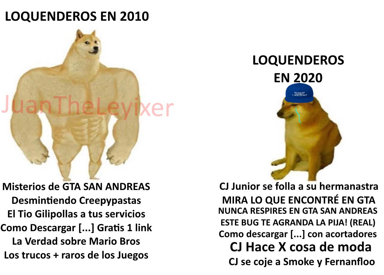 Loquenderos - meme