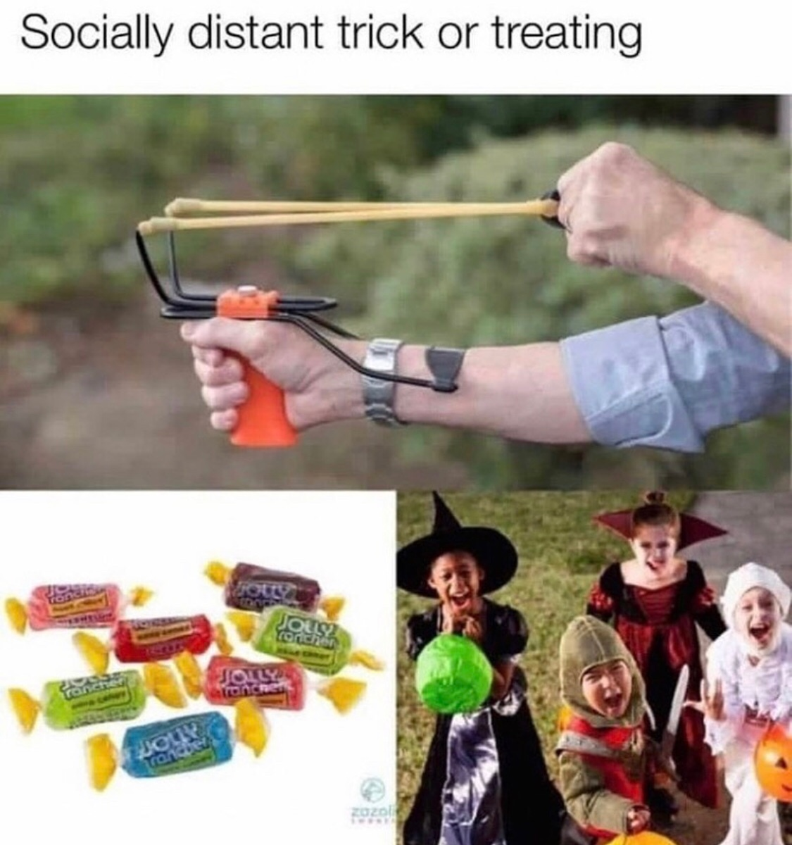 I can't WAIT to give out candy this year~ - meme