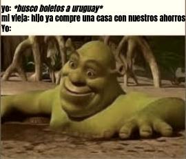 OBJETIVO escapar de argentina - meme