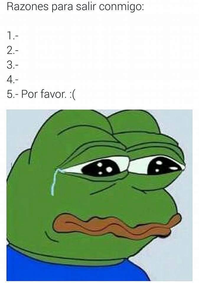 Por favor. :( - meme