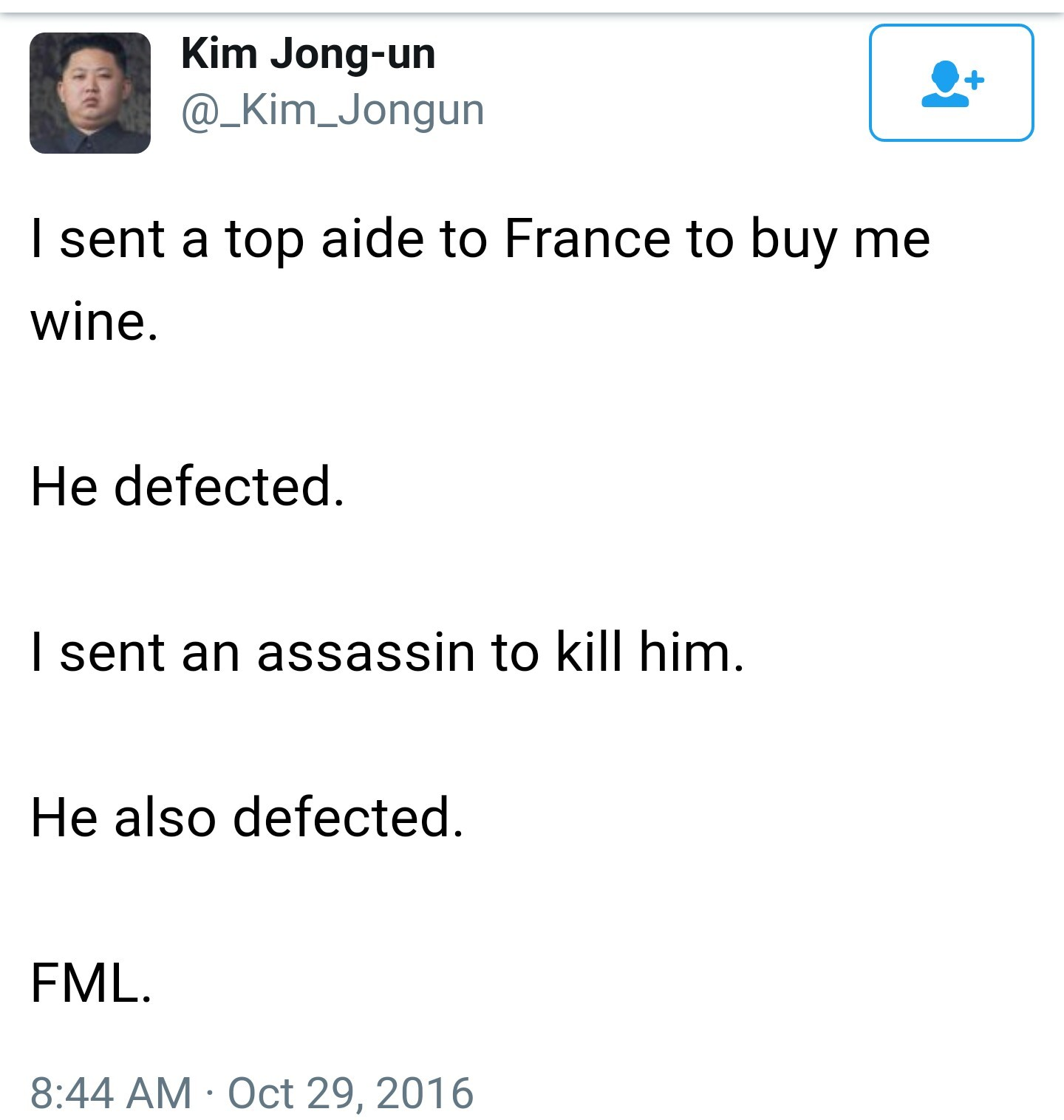 Kim's sad - meme