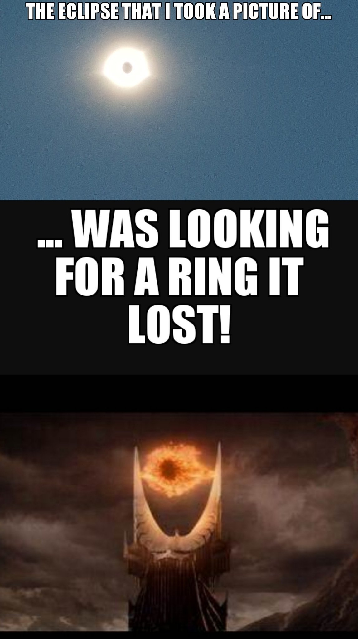 The Eclipse! Directed by Peter Jackson. - meme