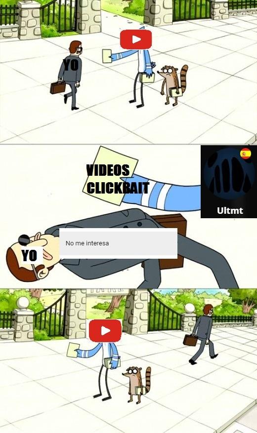 Youtube recomienda basura a veces - meme