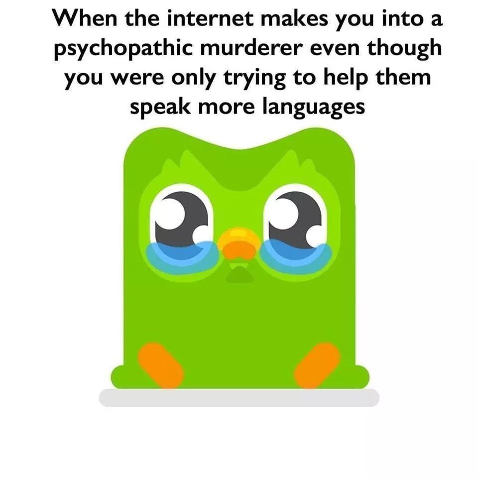 Poor birdie - meme