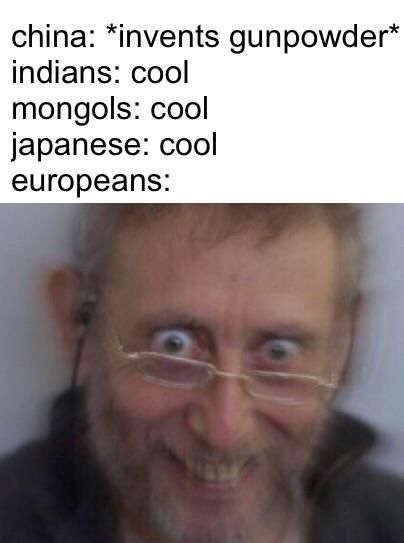 why aint Europe like this now - meme