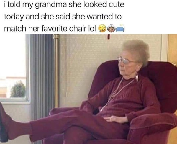 Grandparents are lit - meme