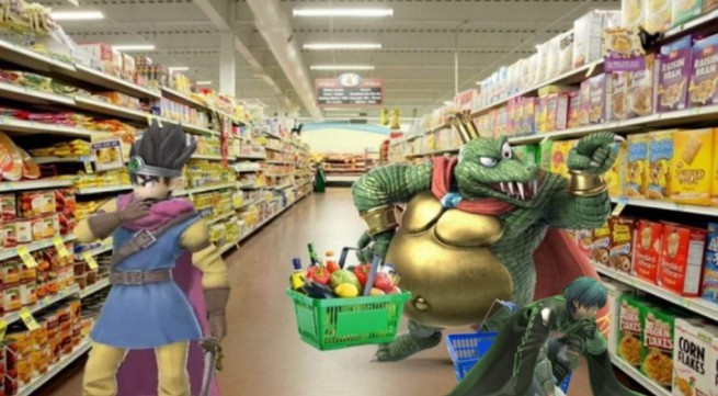 Super Mall Bros - meme