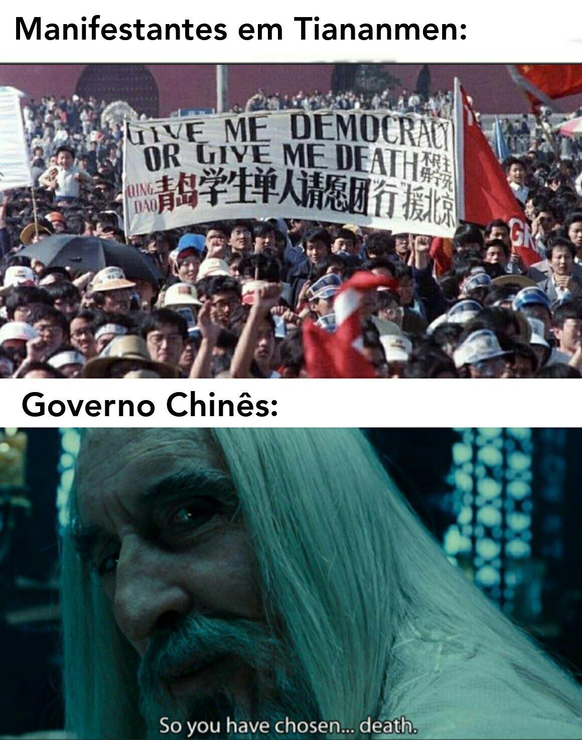 China Filho da puta!!! - meme