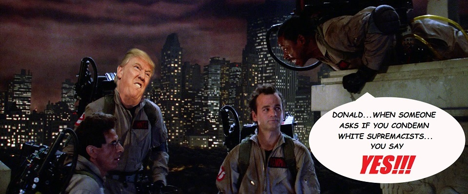 Trump Ghostbusters - meme