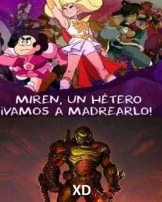Hetero= superior - meme