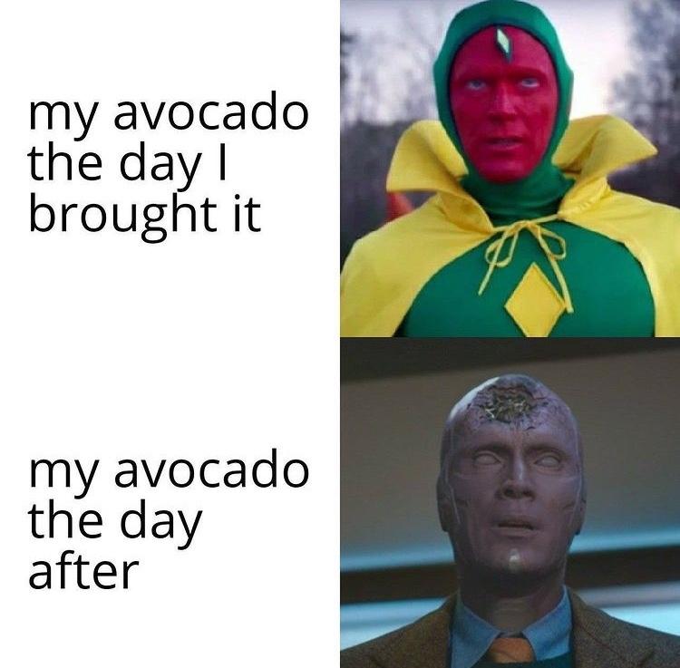 avocados - meme