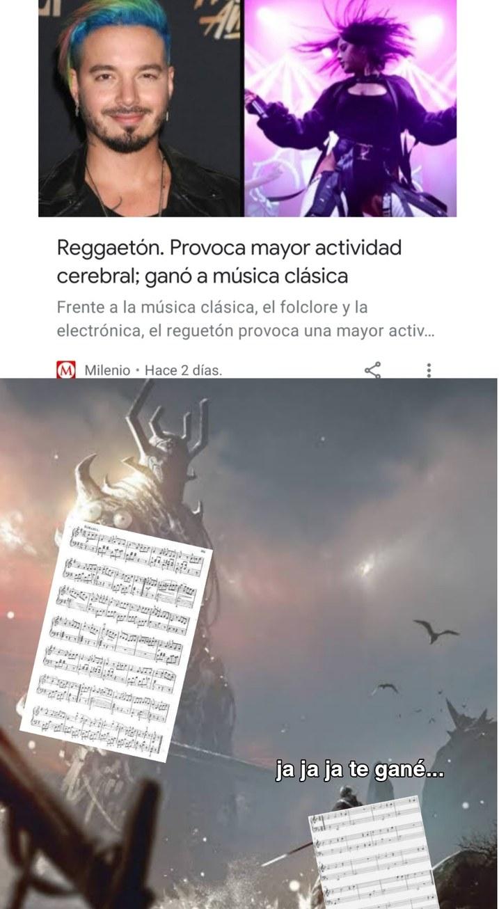 Maldito reggaeton - meme