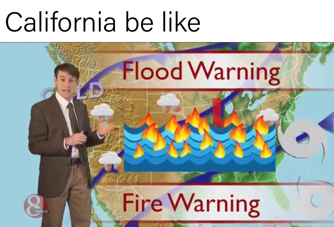 rip Cali - meme