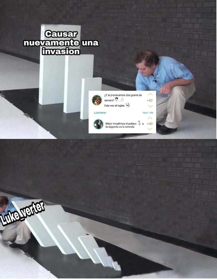 Necesitamos mas para la invasión animense - meme