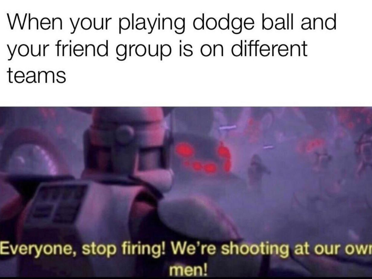 I miss dodge ball - meme