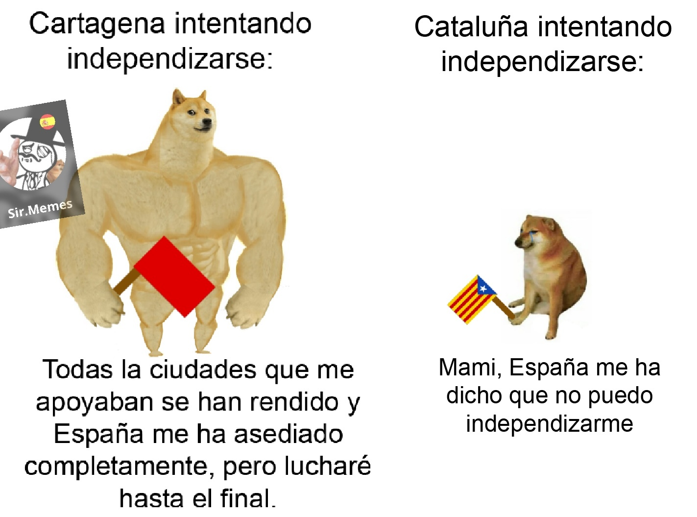 Cantón de Cartagena - meme