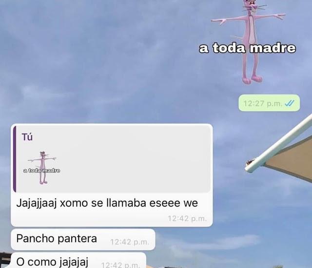 Pancho pantera - meme