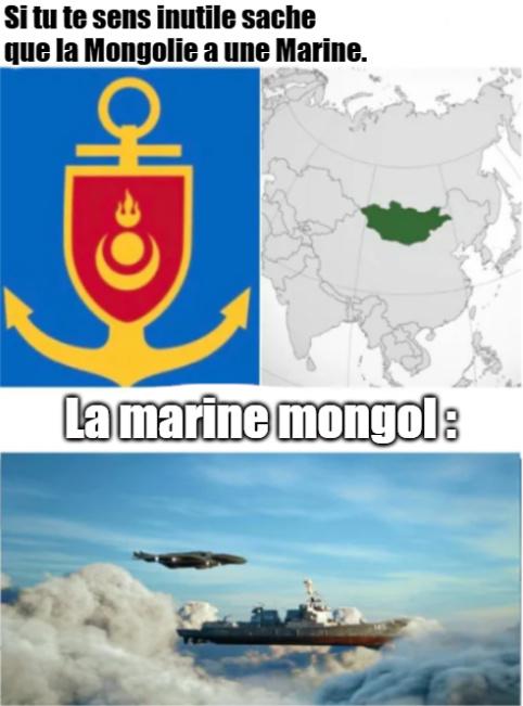 Ou alors ils ont déjà les bateaux volants. - meme