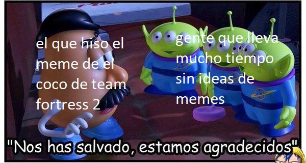nos has salvado estamos agradecidos - meme