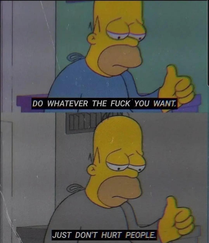 Just be happy - meme