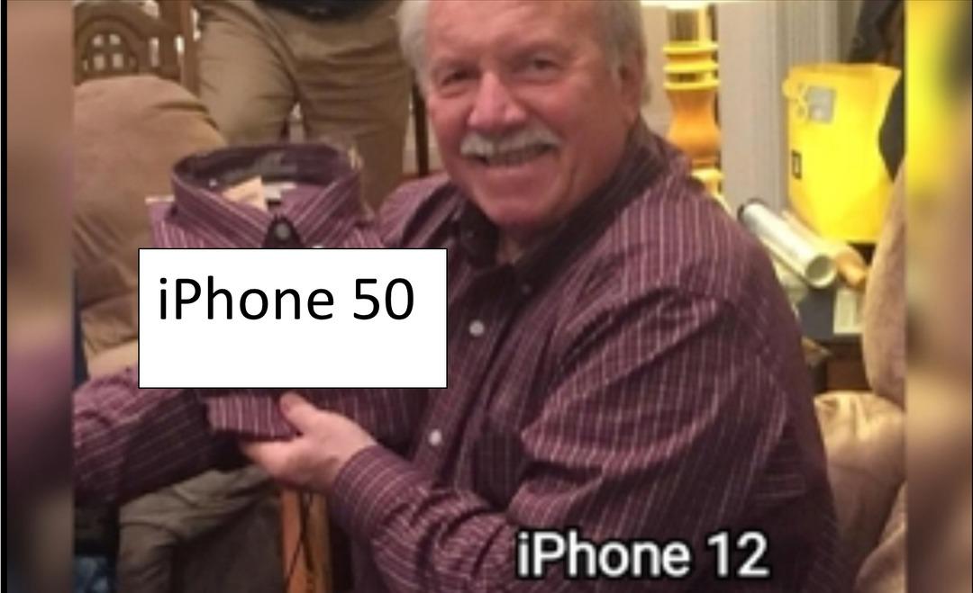 Se que no está tan bueno, pero Apple es asi todos los años - meme