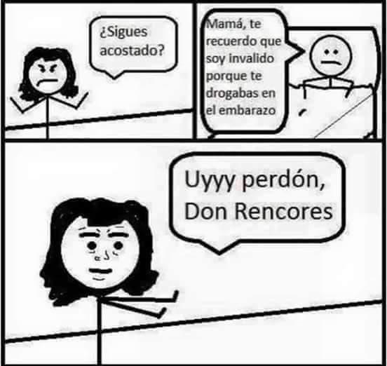 Don rencores - meme