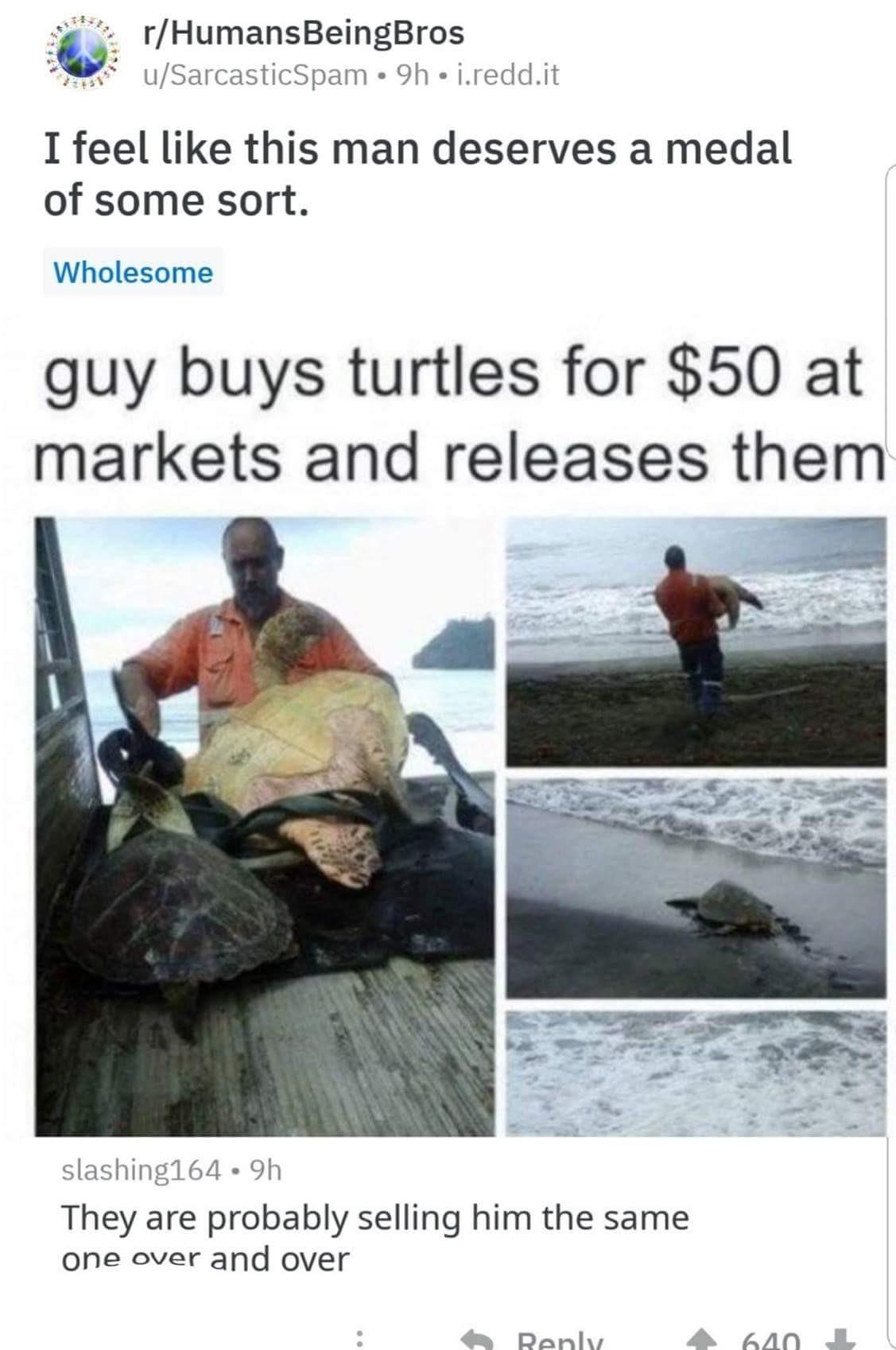 He would still do it.... - meme
