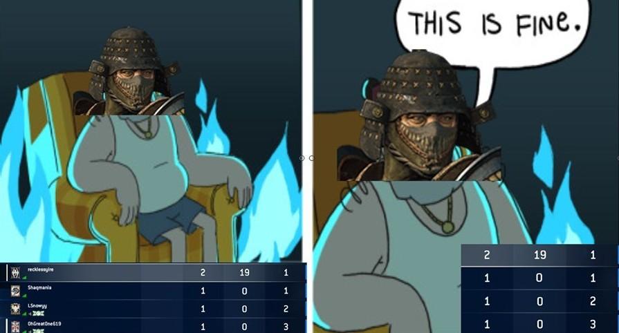 My gameplay in a nutshell - meme