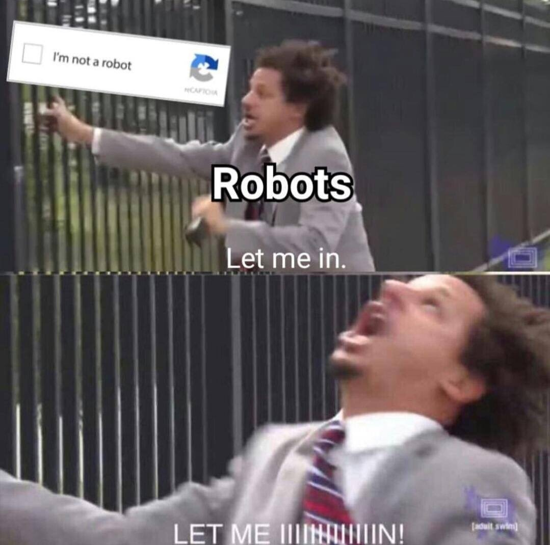 no robots - meme