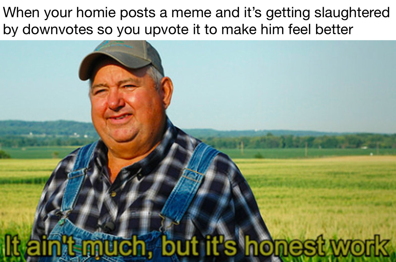 Help out the homies - meme