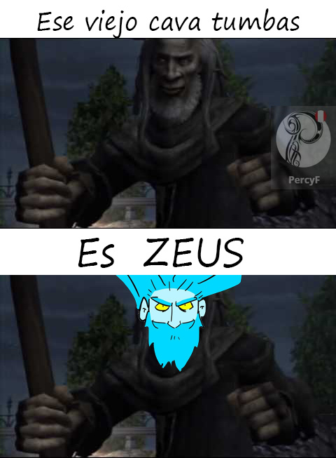 Referencia a god of war 2 - meme
