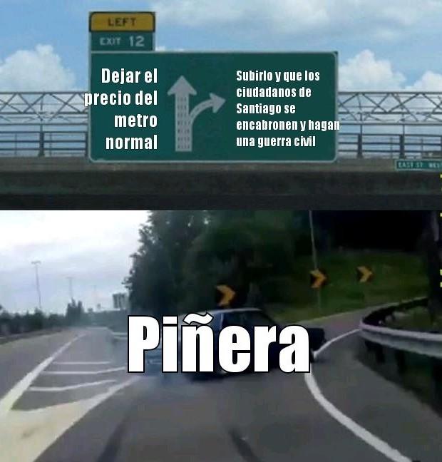 No soy chileno pero me entere - meme