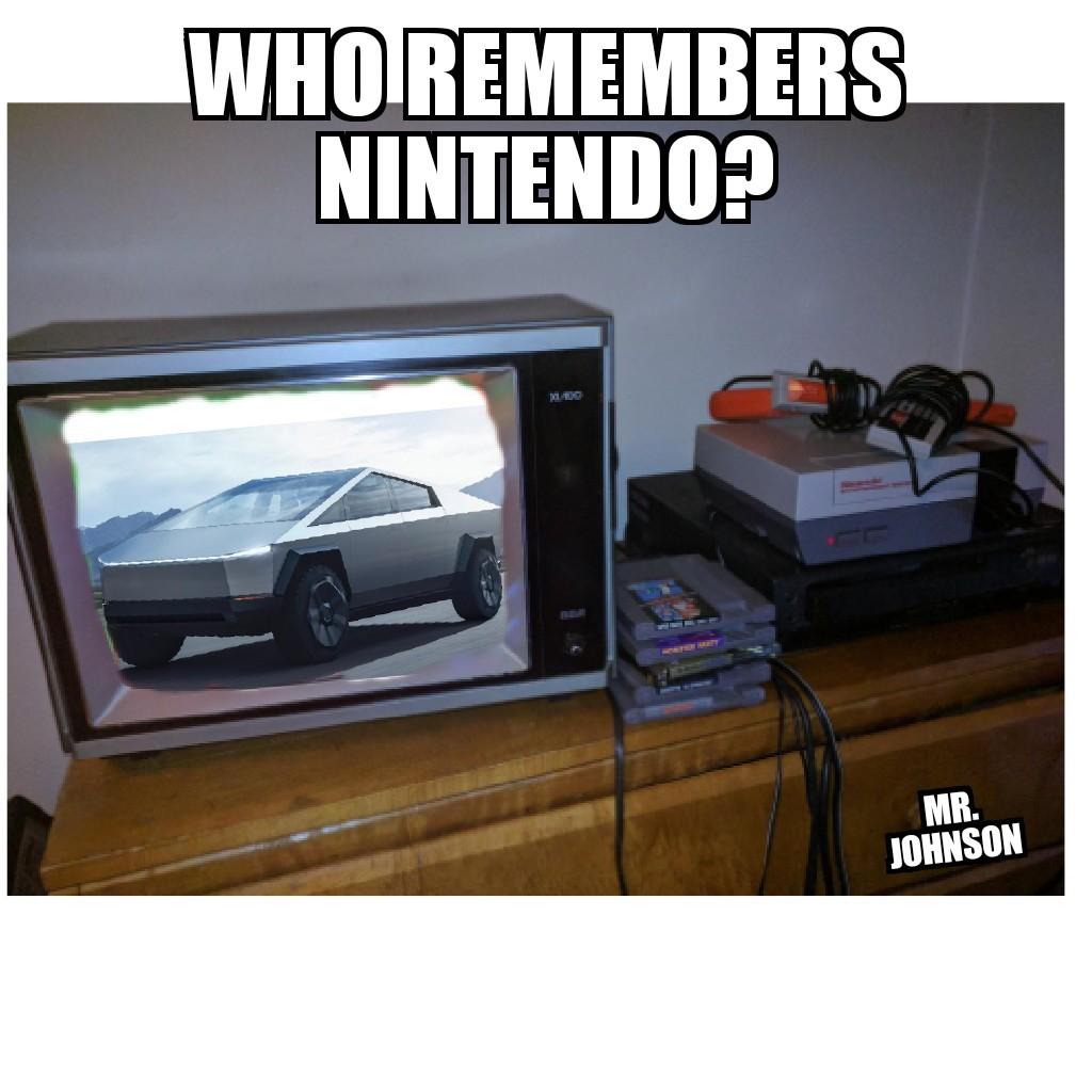 Classic 8 bit game - meme