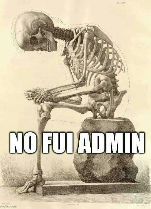 No fui  admin - meme