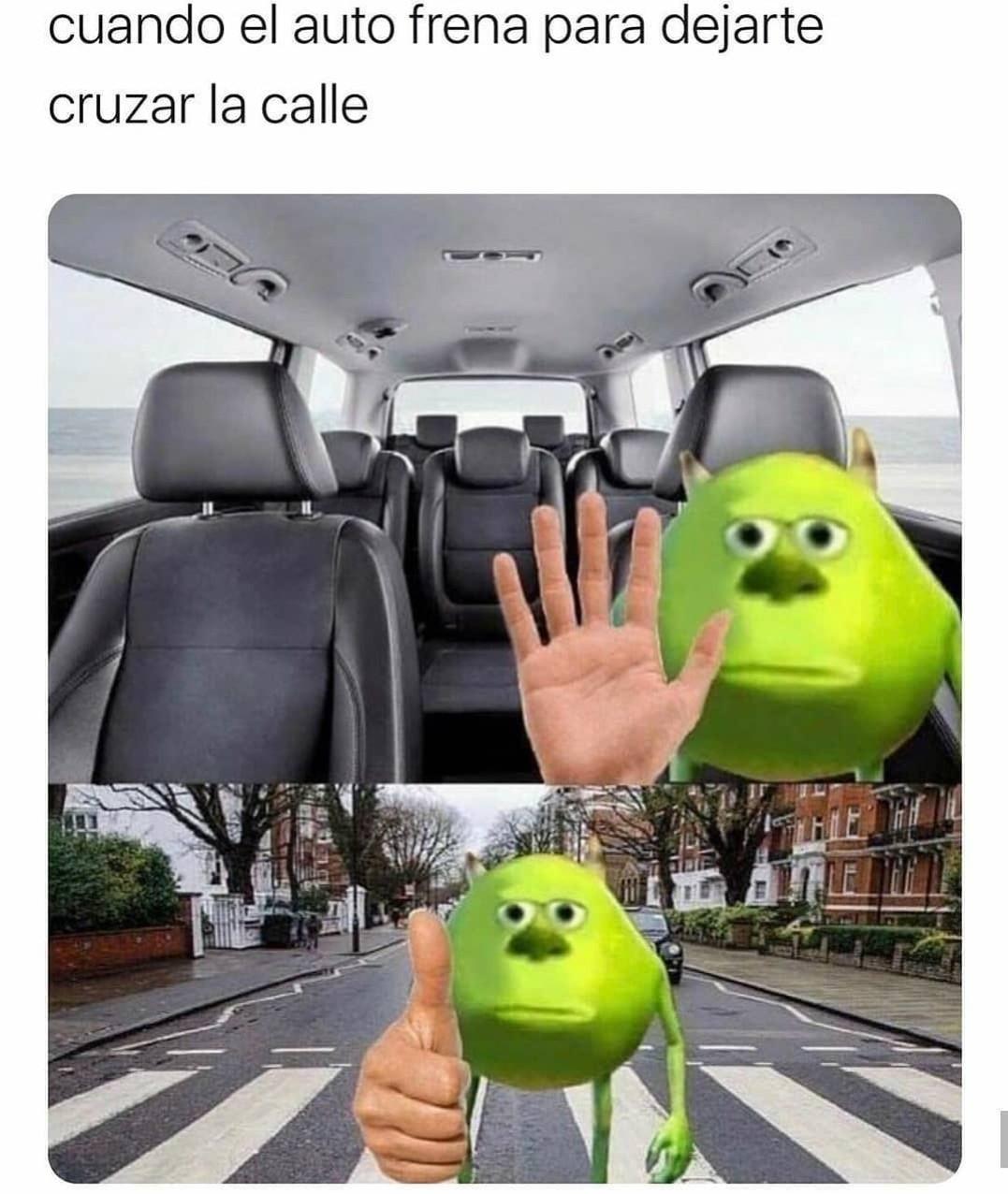 cruzar - meme