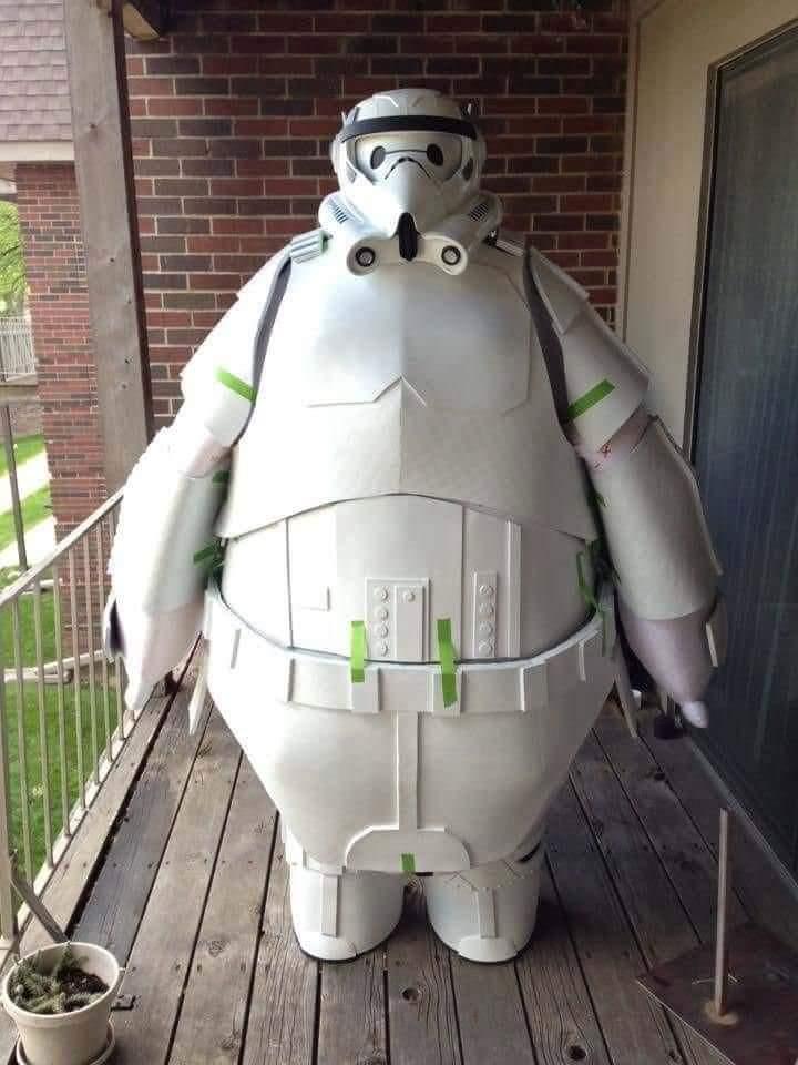 Stormtrooper panzón - meme